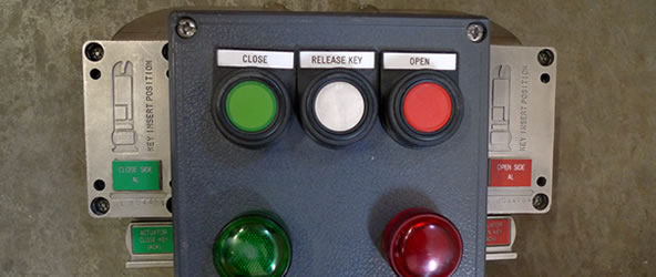 Actuator Switch Lock Panel