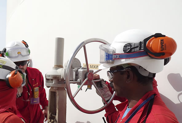 Training for installing and maintaining valve interlocks