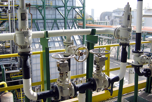 Netherlocksvalve  interlocks for pressure safety valves