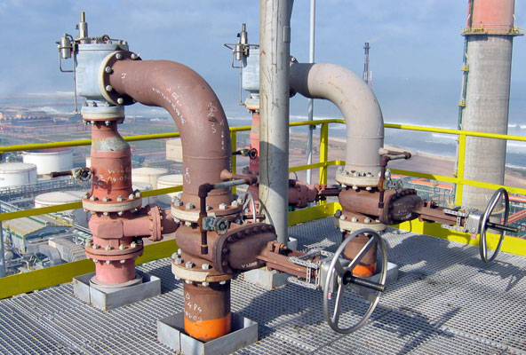 Valve interlocks on psv installation