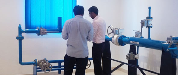Pan Arabian training center for valve interlocks
