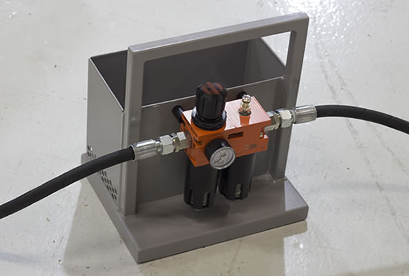 Power Wrench Protection Skid